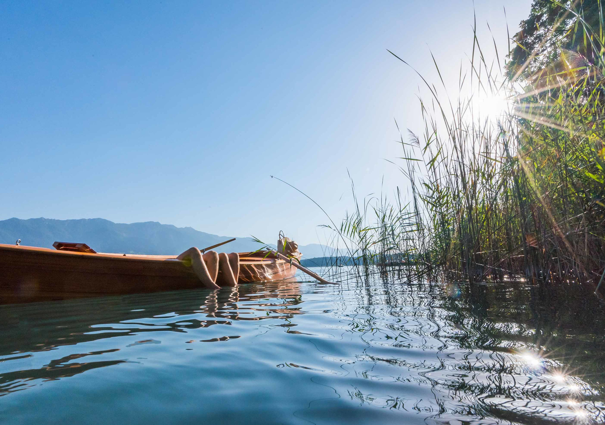 In vacanza d'estate sul lago di Faak in Carinzia, in montagna come al mare