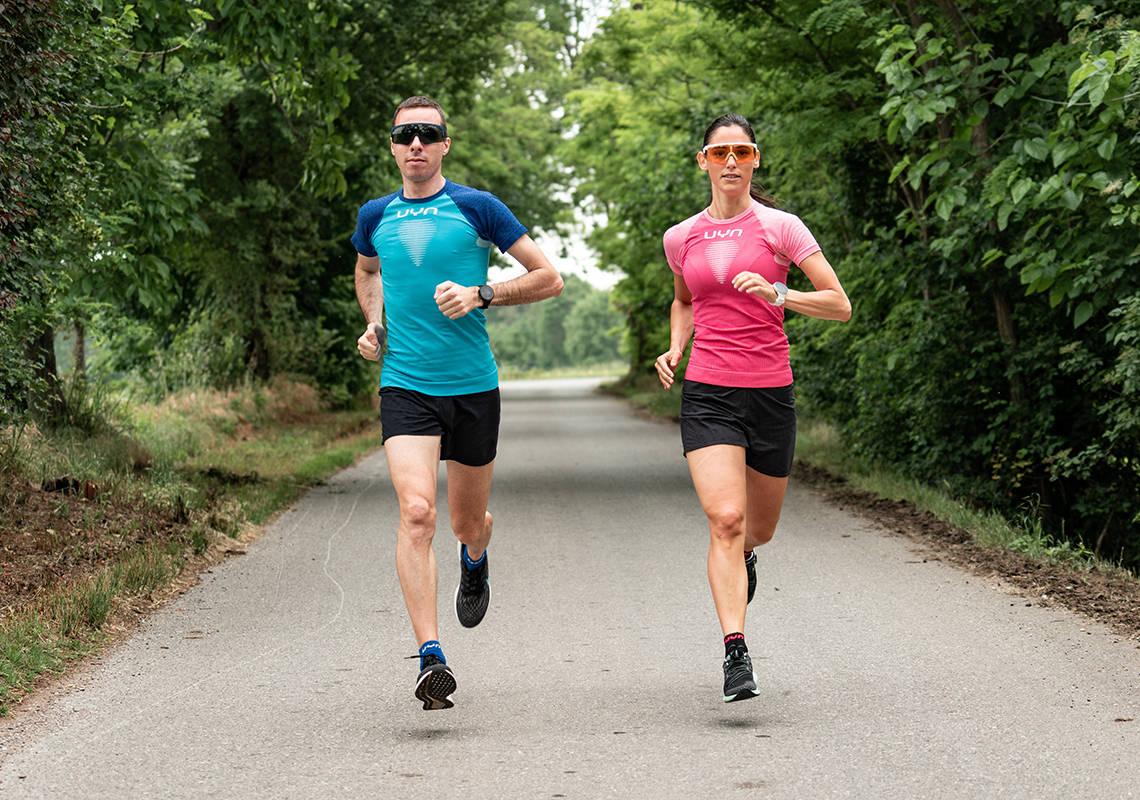 L'abbigliamento UYN da running è meraviglioso