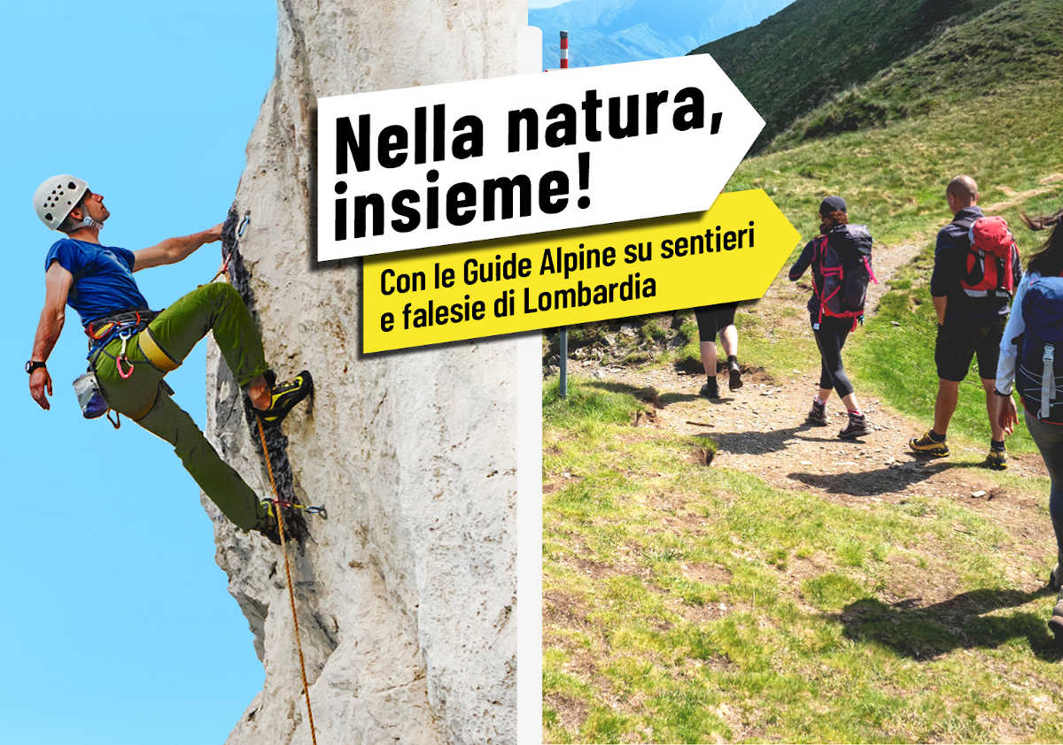 escursioni gratuite con le Guide Alpine e gli Accompagnatori di Media Montagna della Lombardia
