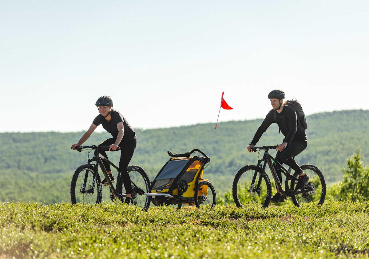 Thule Chariot passeggino bici multisport