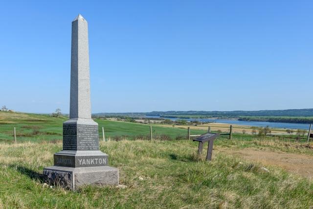 Yankton Treaty Monument
