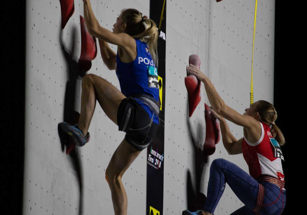 Arrampicata alle Olimpiadi