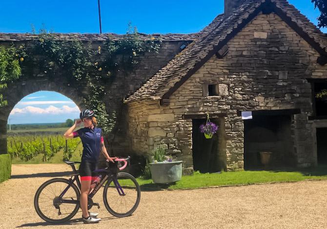Borgogna in bici itinerario sud 2