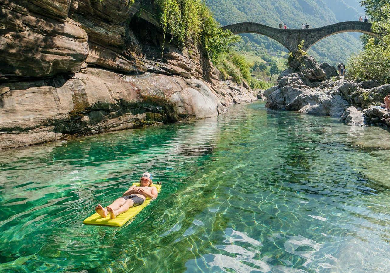 Dove fare il bagno in Ticino