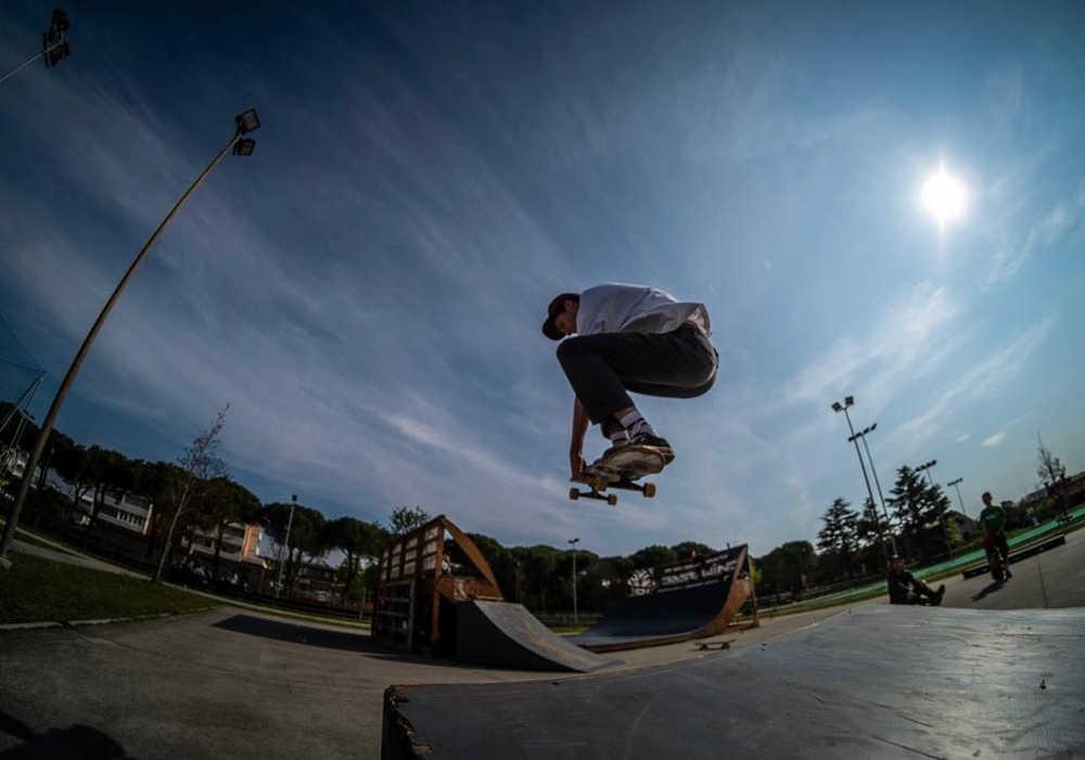 nuovo skate park di Lignano Sabbiadoro