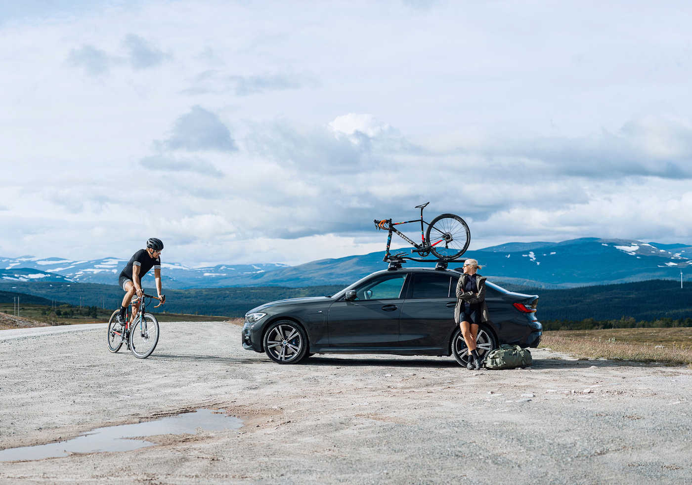 Portare la bici in macchina