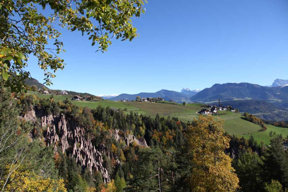 Escursioni d'autunno all'Altipiano del Renon