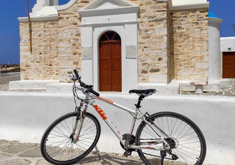 Paros e Antiparos in bici