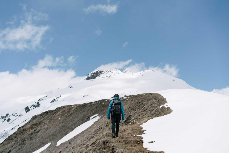 in montagna da solo consigli