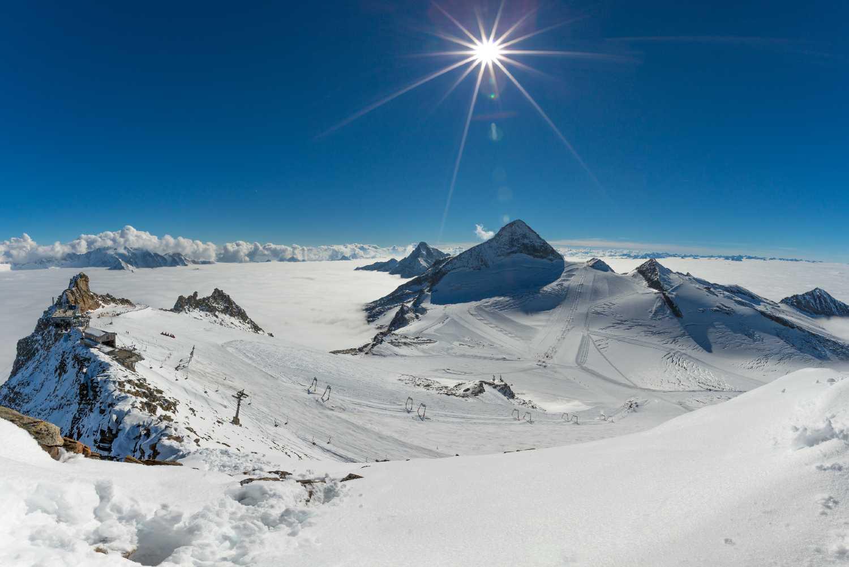 Sciare sui ghiacciai del Tirolo Ghiacciaio Hintertuxer