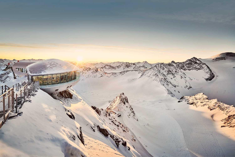 Sciare sui ghiacciai del Tirolo Pitztaler Gletscher