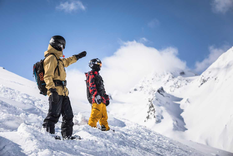 Sciare sui ghiacciai del Tirolo